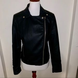 [Forever 21] Women's Faux Leather Jacket - Large